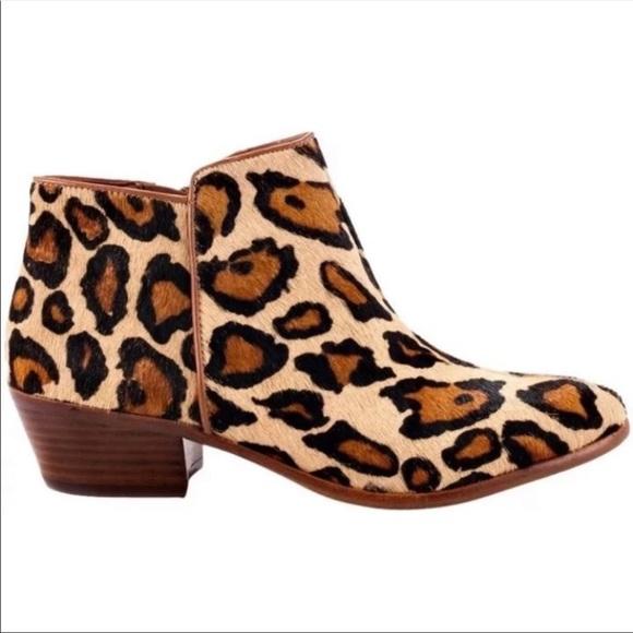 0486035d8 NWOT Sam Edelman Petty Leopard Booties. M 5cbf929d9ed36d98b035dd00